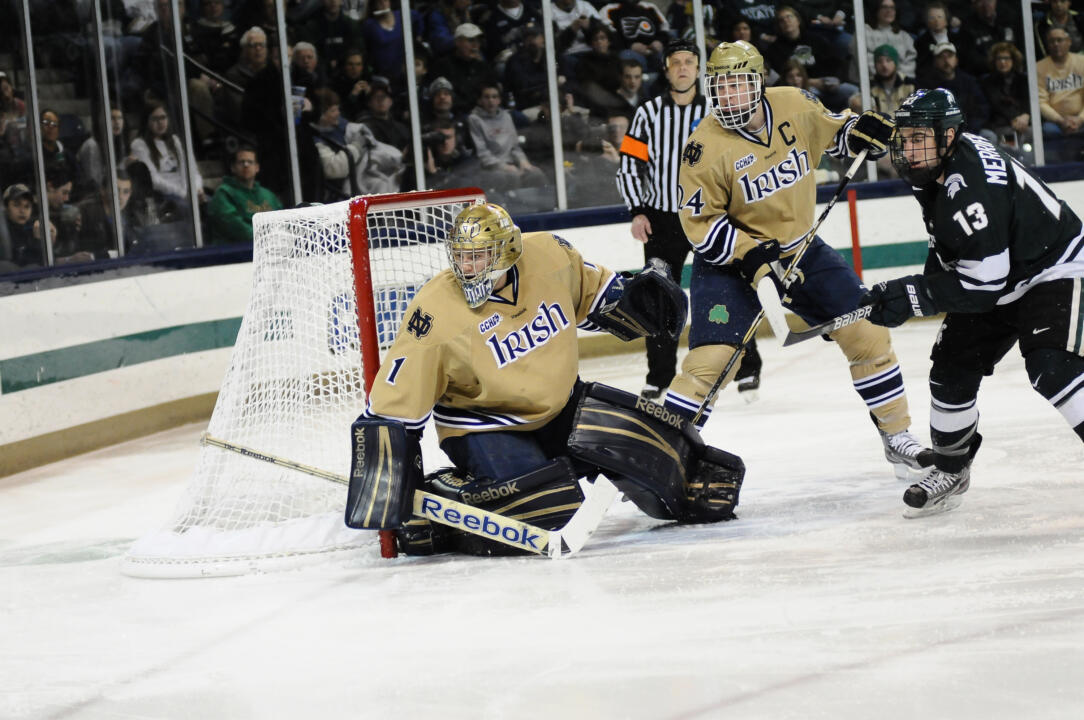 Notre Dame Hockey vs Michigan State on February 24th, 2012