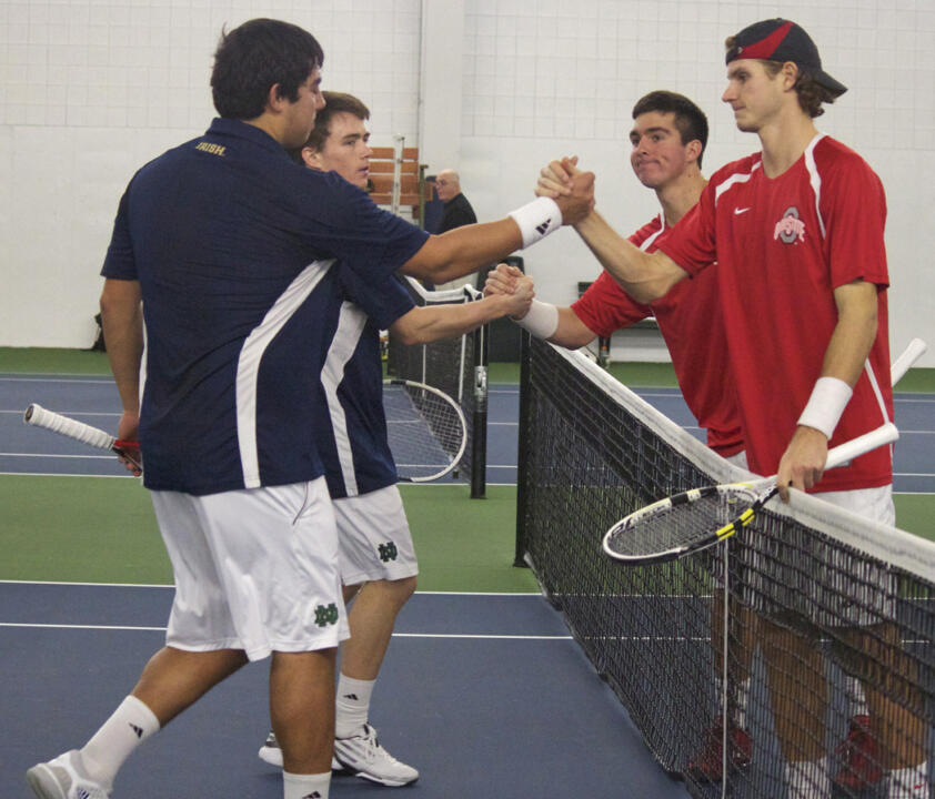 3/3 Men's Tennis vs Ohio State