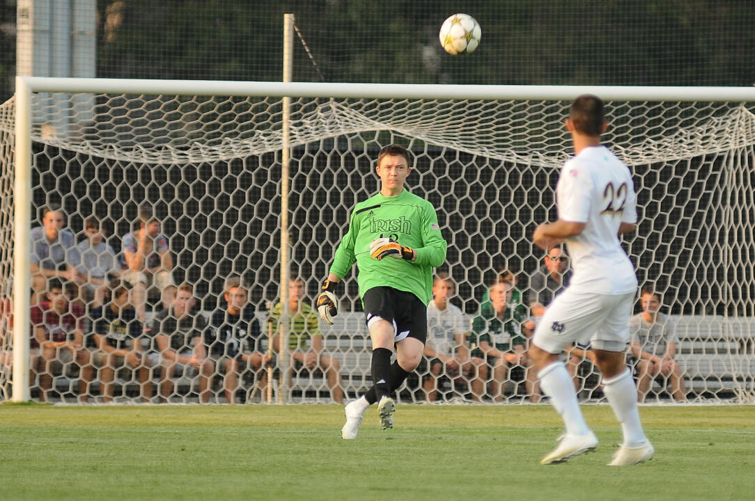 Notre Dame Men's Soccer vs Duke on 8-26-12