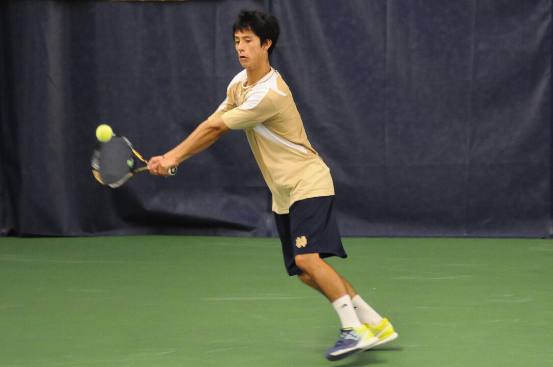 Notre Dame Men's Tennis Tom Fallon Invitational on 10-06-2012