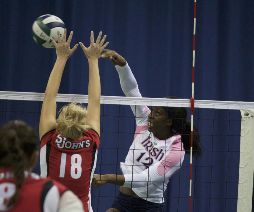 10/7 Volleyball vs St. John's