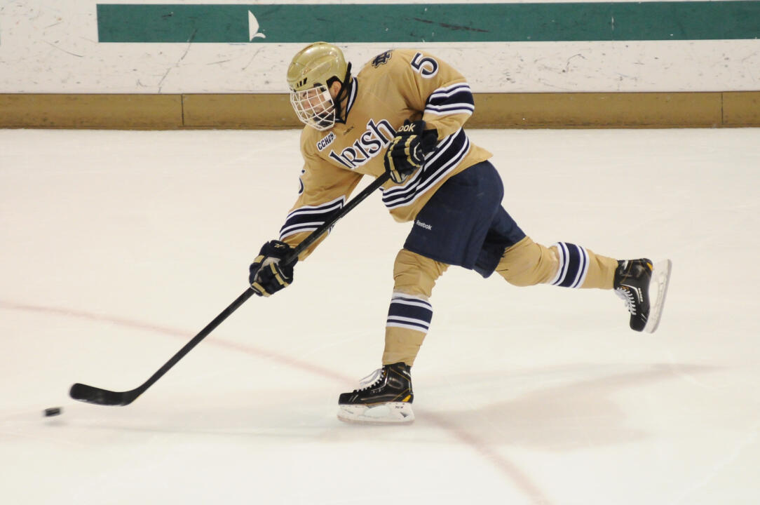 Notre Dame Men's Hockey vs Minnesota Duluth on 10-19-2012