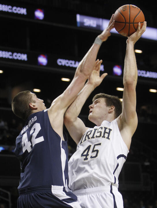 No. 20 Irish Top BYU, 78-68 (AP)