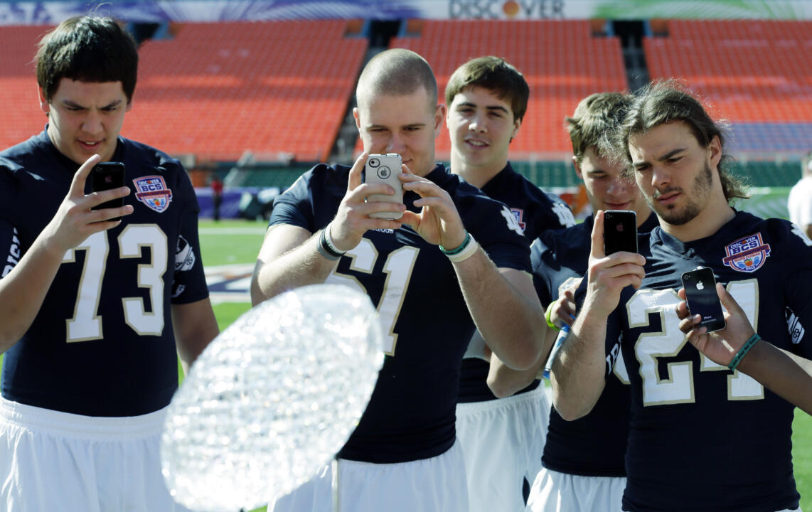 Irish in Miami - Media Day (AP)