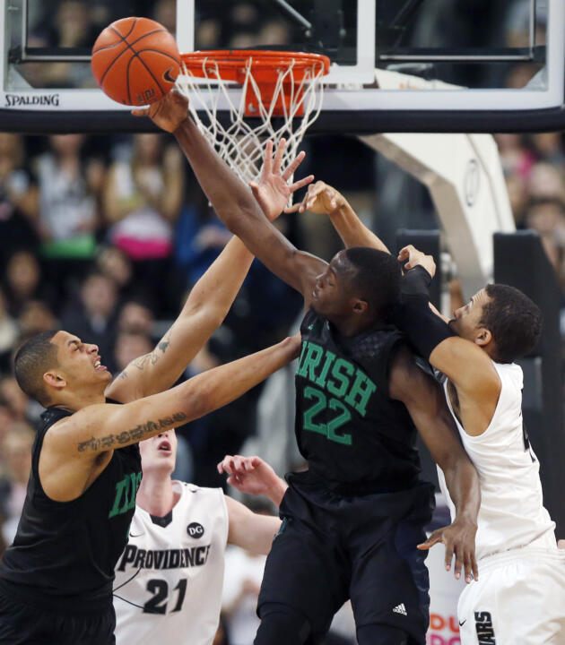 No. 21 Notre Dame Falls to Providence, 71-54 (AP)