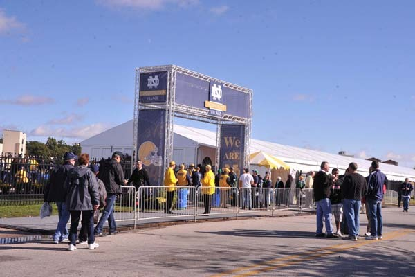 Ultimate Irish Tailgater at the Notre Dame Hospitality Village