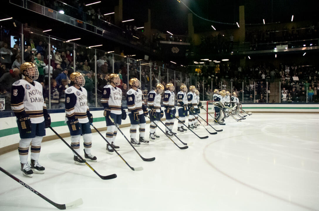 03-16-2013 Notre Dame Men's Ice Hockey vs Bowing Green