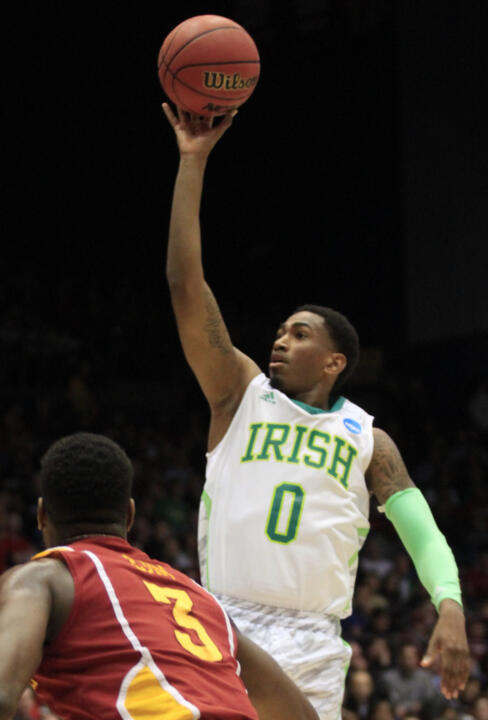 No. 23 Notre Dame Falls To Iowa State In NCAAs, 76-58 (AP)