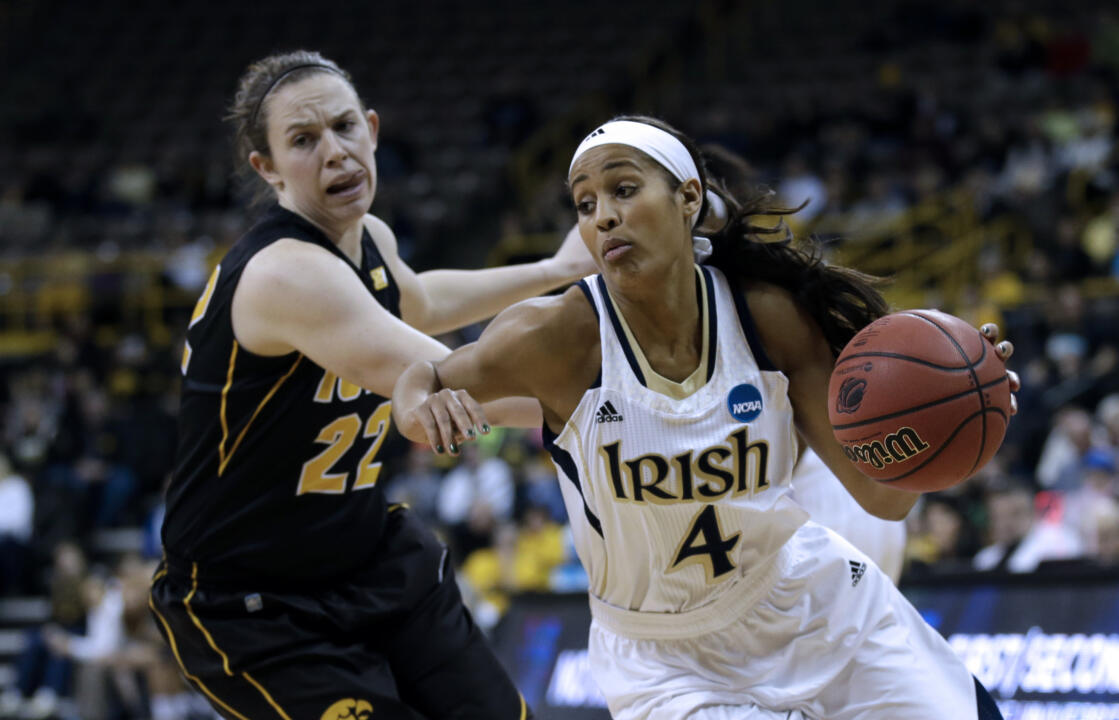 #2 Irish Overpower Iowa To Reach Sweet 16 (AP)