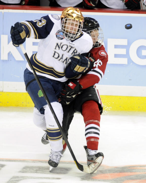Notre Dame vs. St. Cloud State - AP Photos