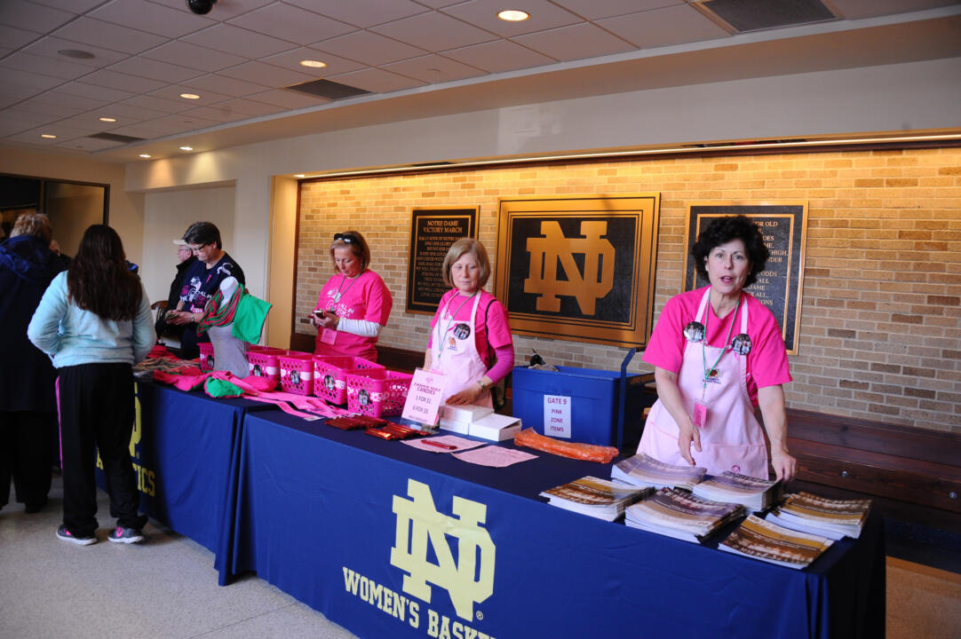 Notre Dame Pink Zone 2015