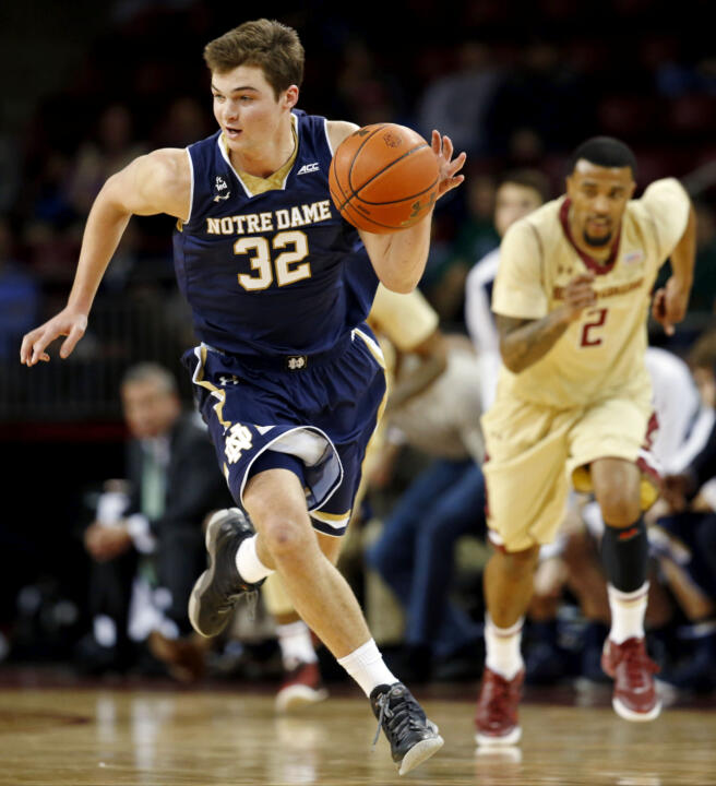 Notre Dame, 82 vs. Boston College, 54