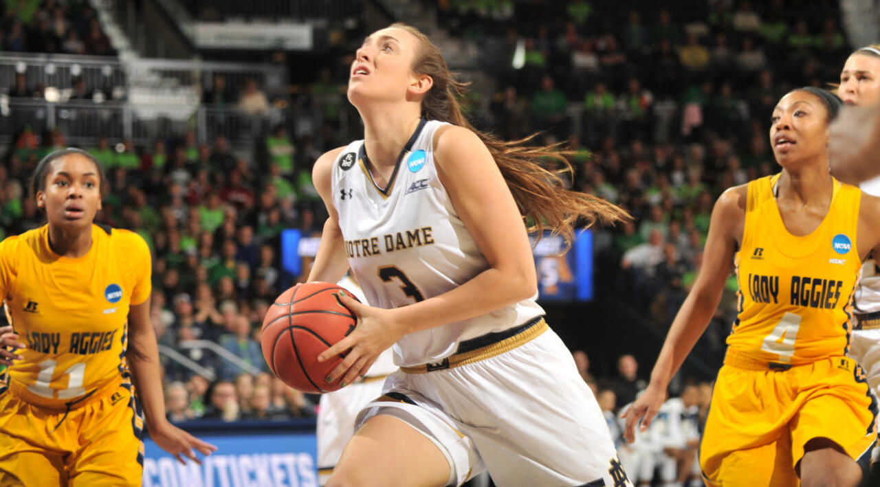 #2 Irish Open Tournament With Win Over N.C. A&T, 95-61