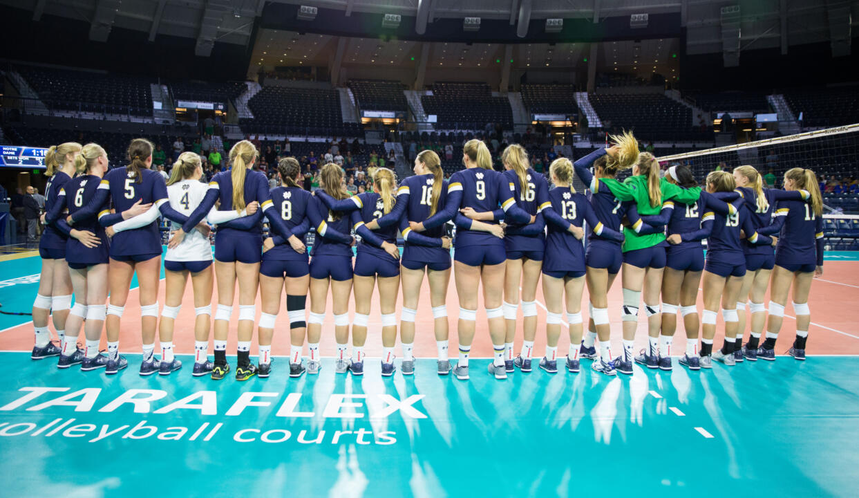 Notre Dame Volleyball vs. Seton Hall