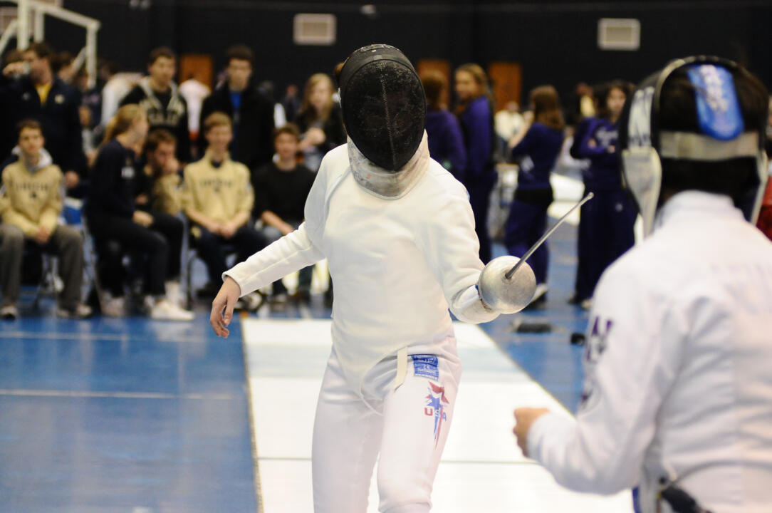 Notre Dame Fencing MFC Individules Championship on March 3, 2012