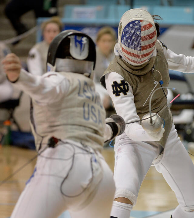 Notre Dame Women's Fencing ACC Championships