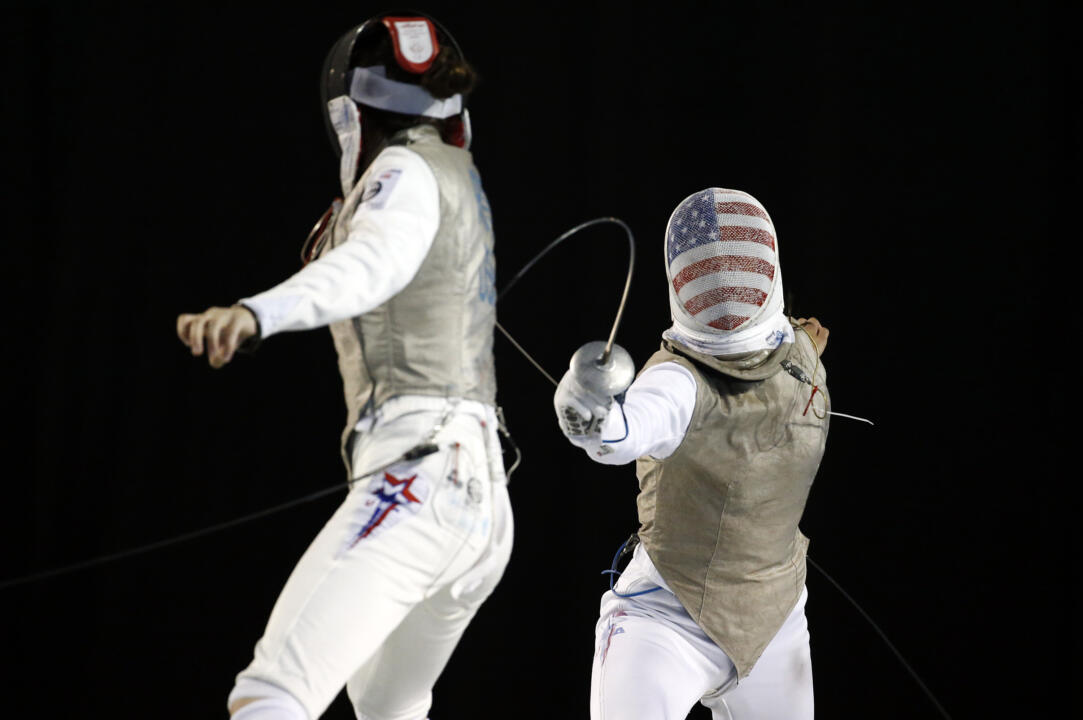 ND Fencers in the 2015 Pan Am Games (USATSI)