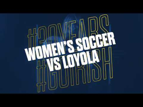 Highlights | @NDSoccer vs Loyola Chicago (2018)