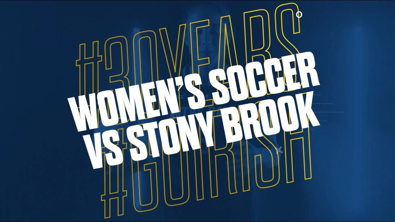 Highlights | @NDSoccer vs Stony Brook (2018)