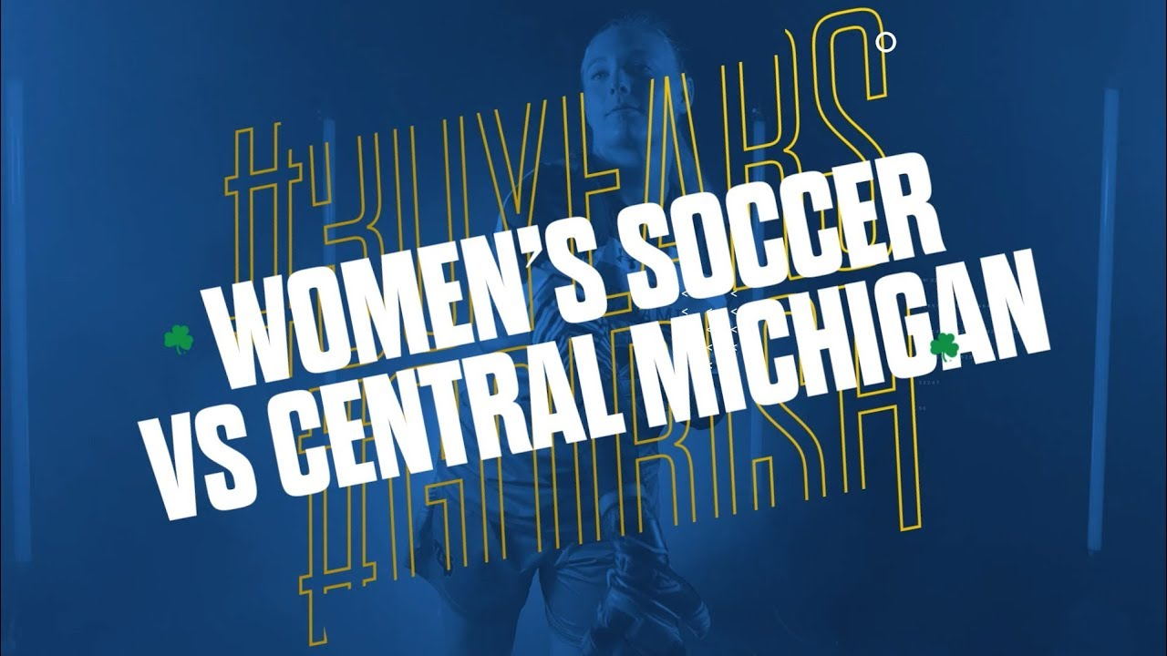 Highlights | @NDSoccer vs Central Michigan University (2018)
