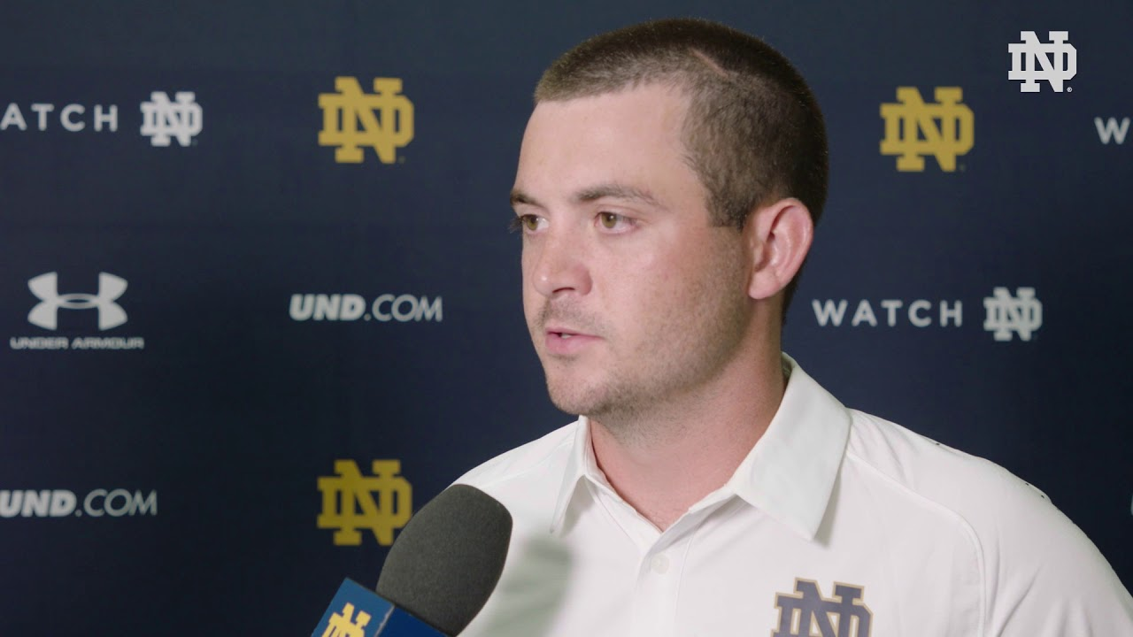 @NDFootball | Media Day Interview - Tom Rees (2018)