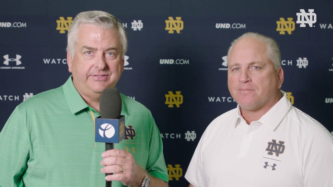 @NDFootball | Media Day Interview - Jeff Quinn (2018)