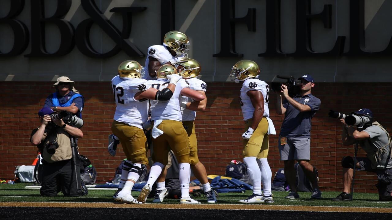 TD against Wake
