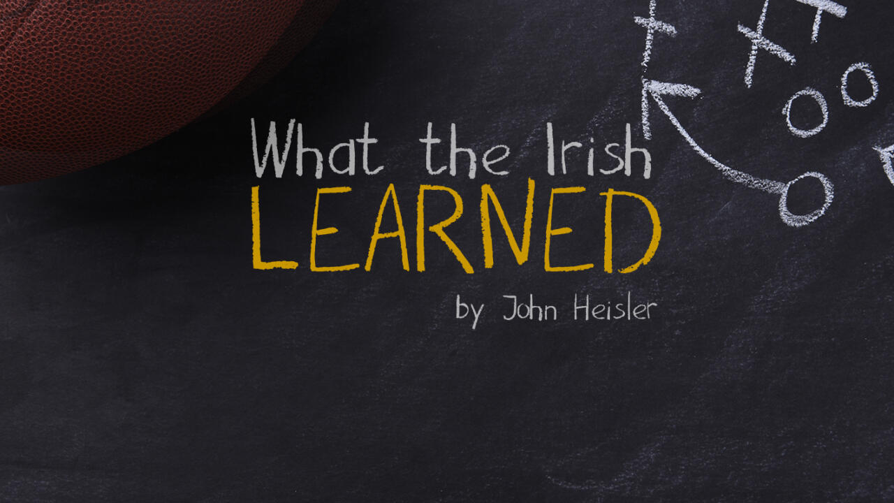 What The Irish Learned