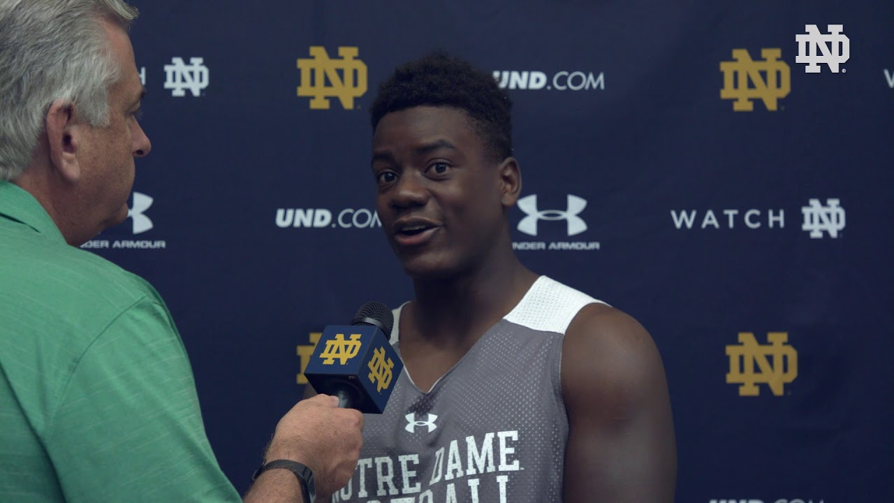 @NDFootball | Jafar Armstrong Post Practice Interview Stanford Week (2018)