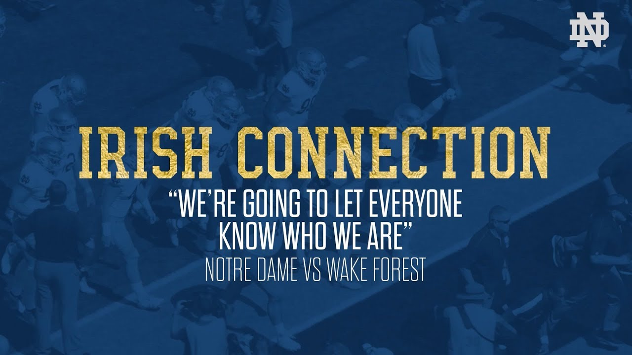@NDFootball | ICON - Wake Forest (2018)