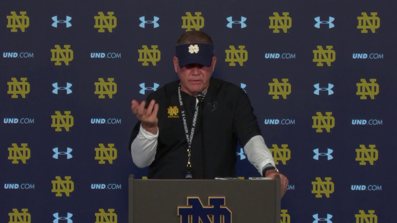 Brian Kelly Press Conference September 13th, 2018