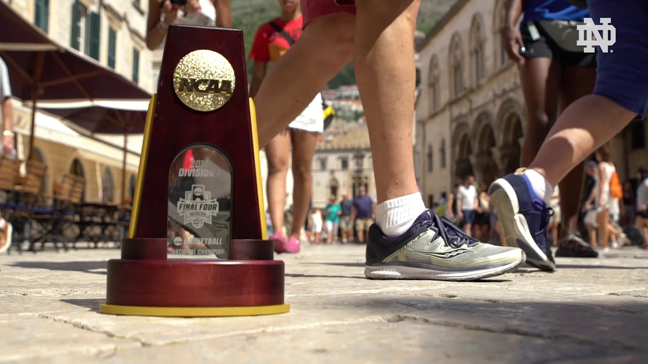 #NDWBBAbroad | Baby Trophy Takes Europe