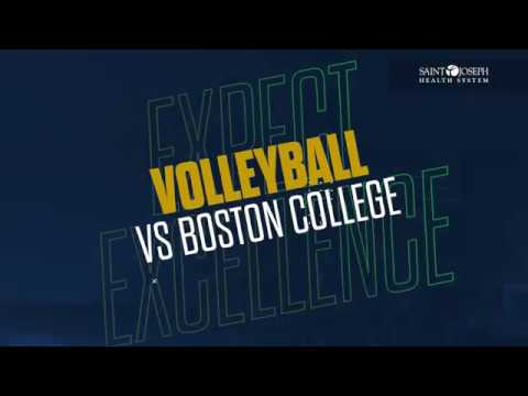 @NDVolleyball | Highlights vs. Boston College (2018)