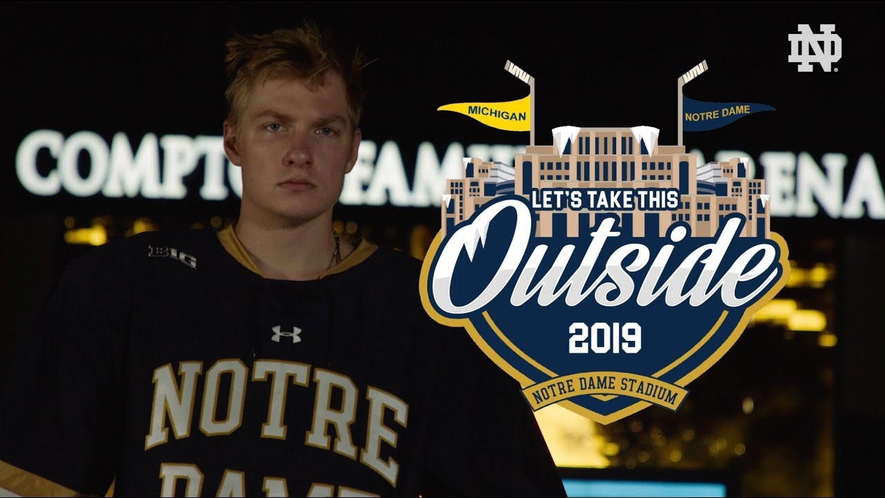 @NDHockey | Let's Take This Outside: Outdoor Game Announcement (2018)