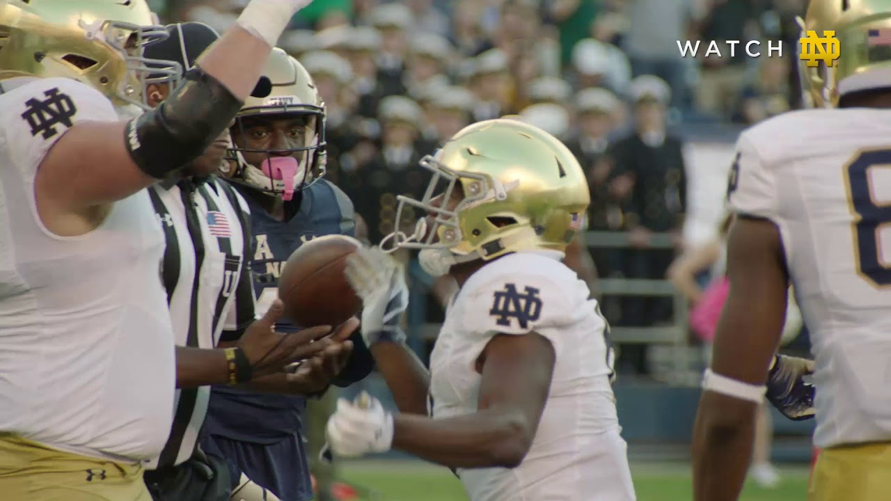 Top Plays | @NDFootball vs.Navy (2018)