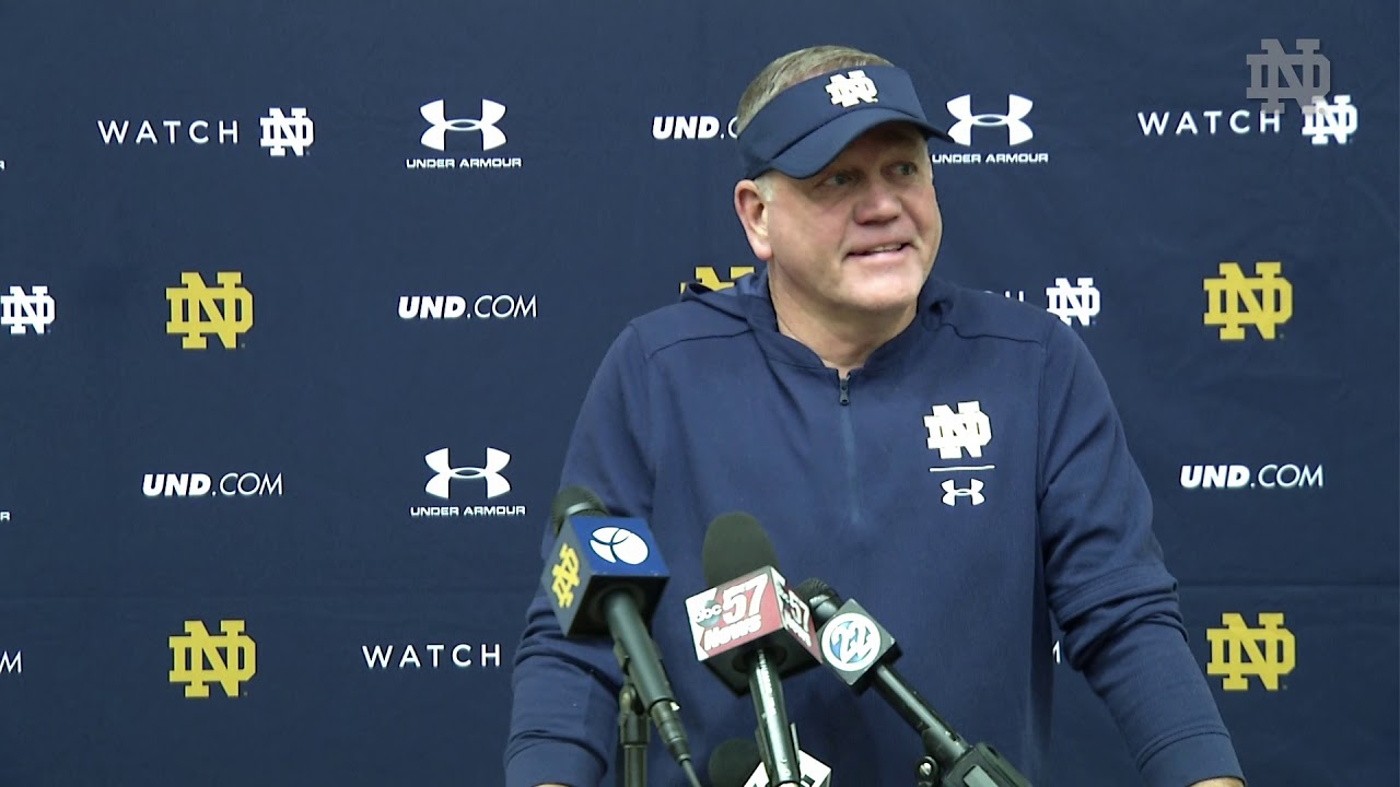 Brian Kelly Press Conference Navy Week