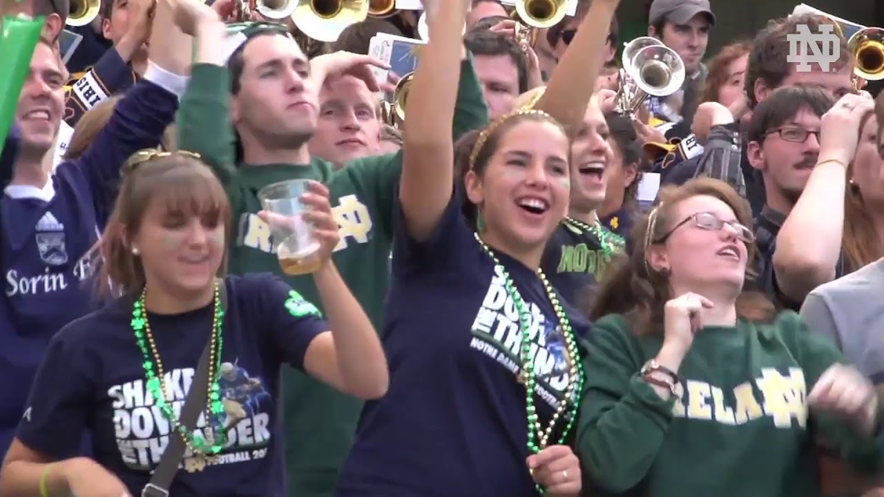 @NDFootball | Football Returns to Dublin, Ireland in 2020 (2018)