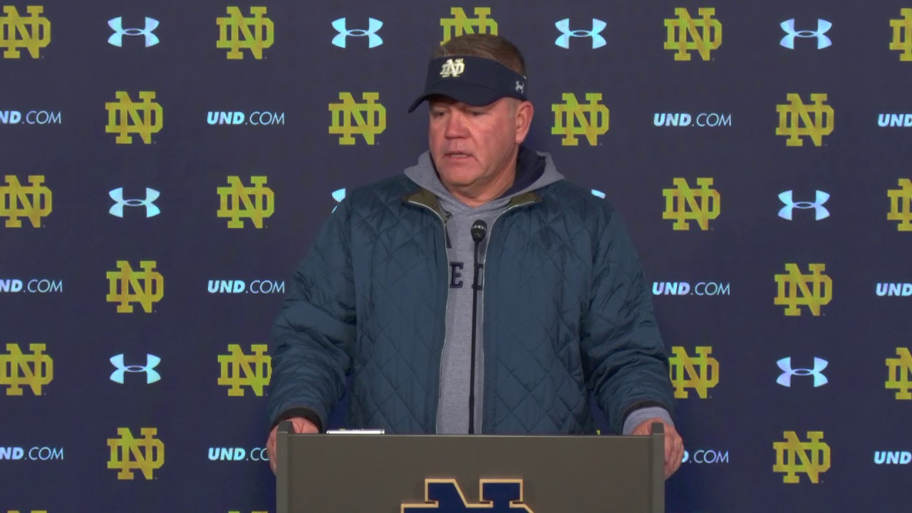 Brian Kelly Press Conference Pittsburgh