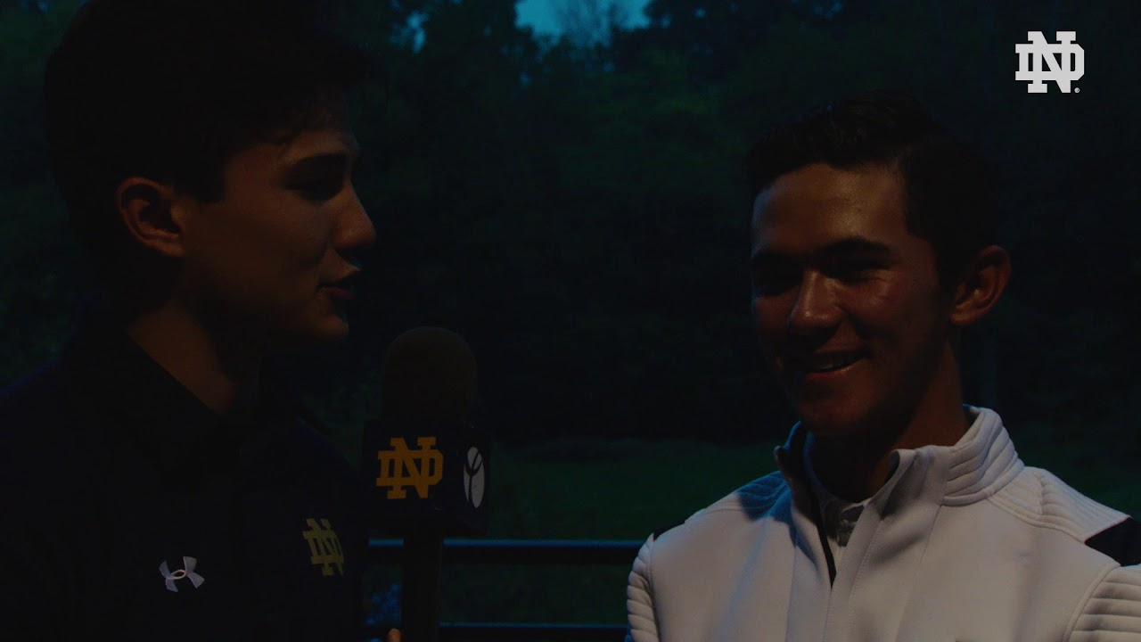 Instant Reaction | @NDMensGolf Fighting Irish Classic Day 1: Davis Chatfield (2018)