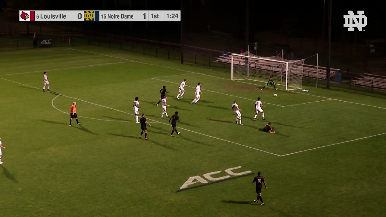 @NDMenSoccer | Highlights vs Louisville (2018)