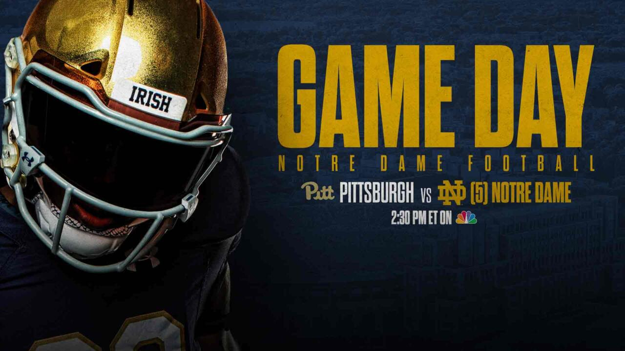 gameday graphic pitt