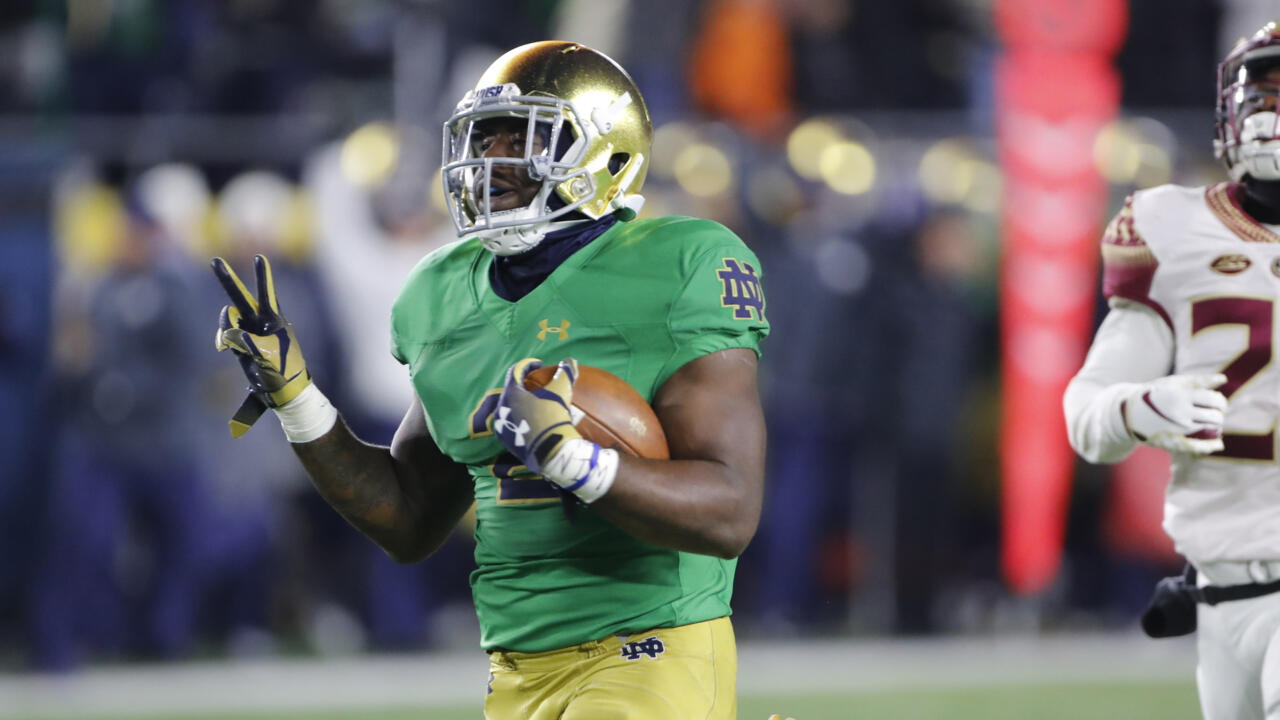 pretty nice c86e3 ba7a0 Dexter Williams To The House – Notre Dame Fighting Irish ...