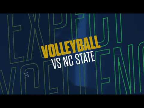 @NDVolleyball | Highlights vs. NC State (2018)