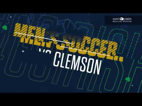 @NDMenSoccer | Highlights vs. Clemson (2018)