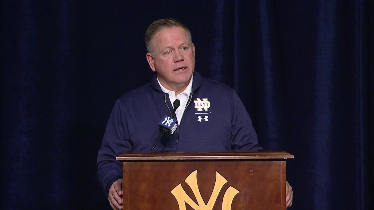 @NDFootball | Post Game Press Conference vs. Syracuse (2018)