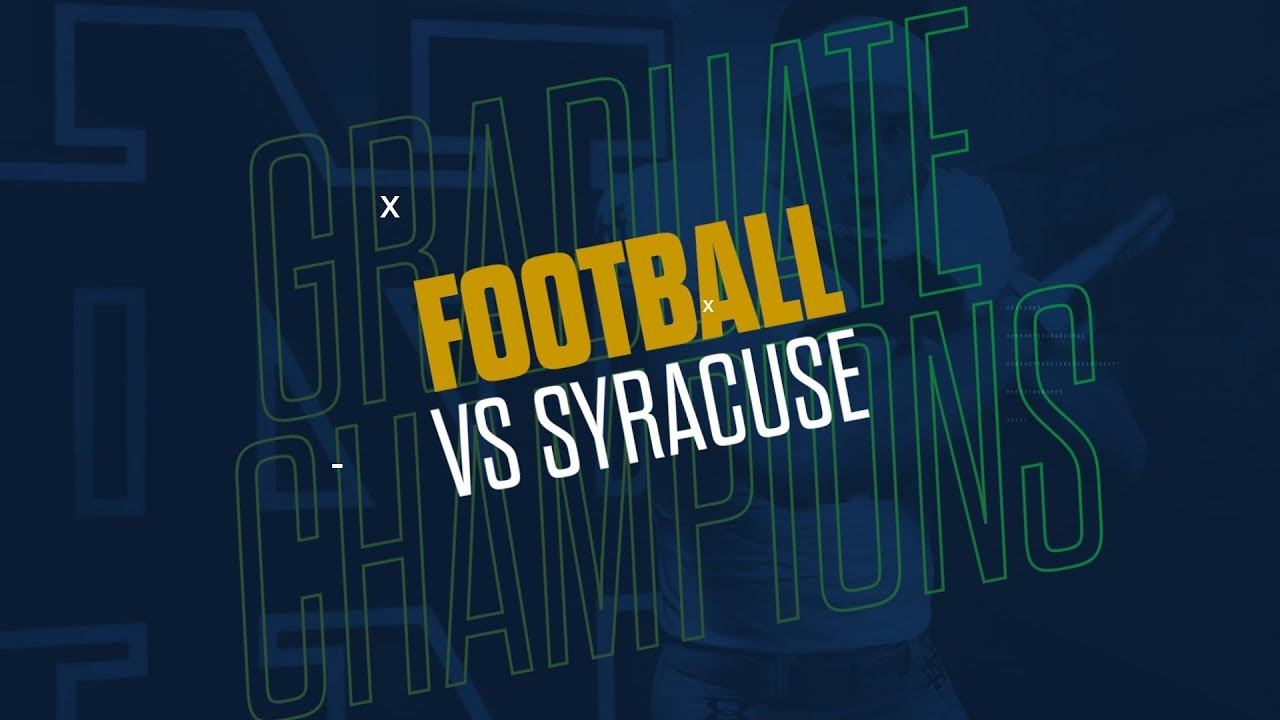 @NDFootball | Highlights vs. Syracuse (2018)