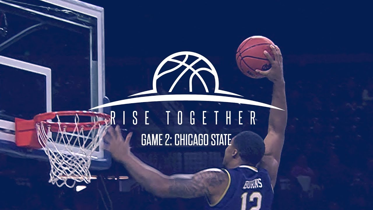 @NDMBB | Rise Together Game 2: Chicago State (2018)