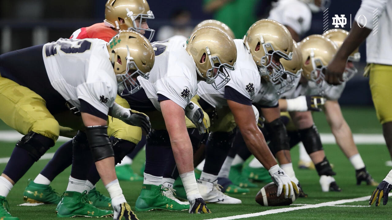 Christmas Day Football Schedule.Notre Dame Celebrates Cotton Bowl Christmas Notre Dame