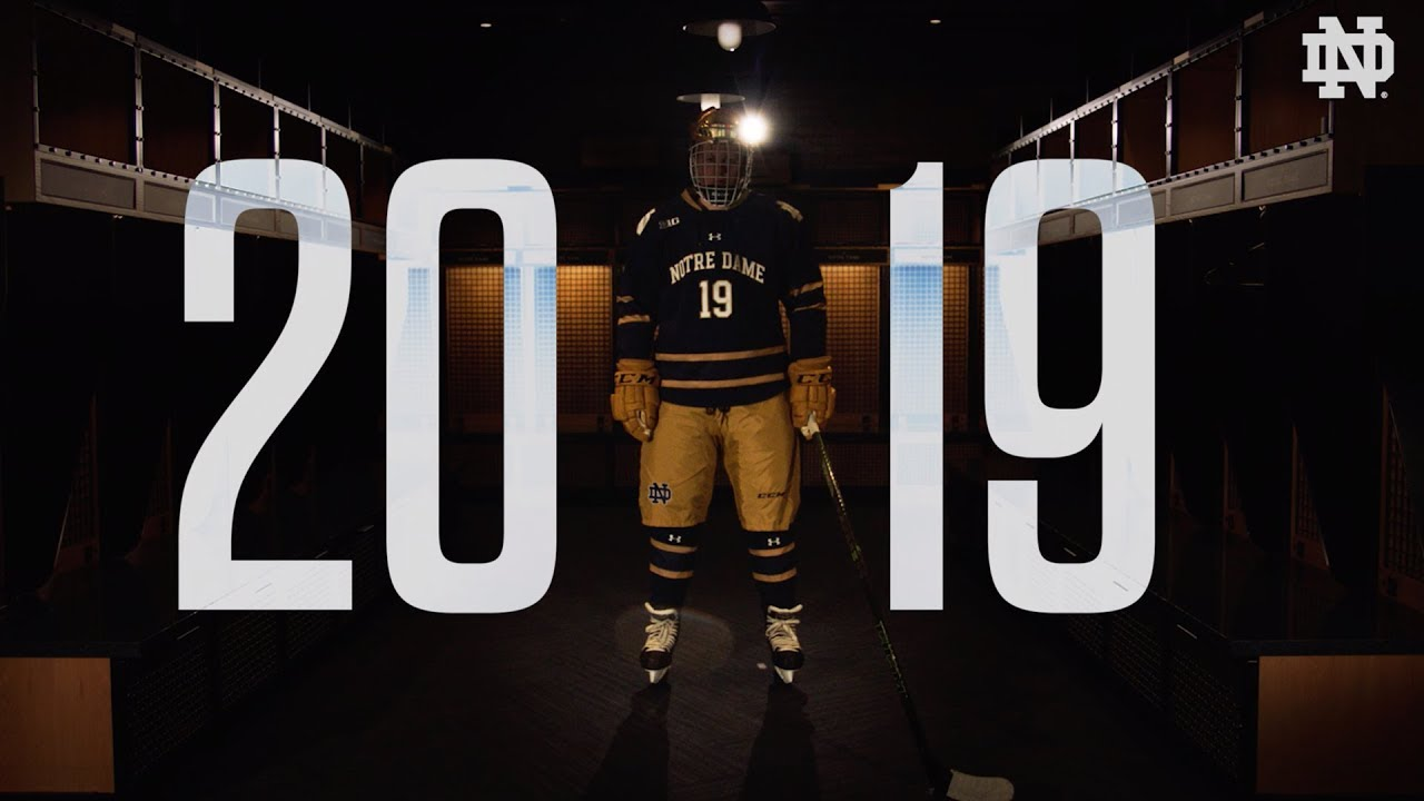@NDHockey | 2019 Outdoor Game Uniform Reveal (2018)