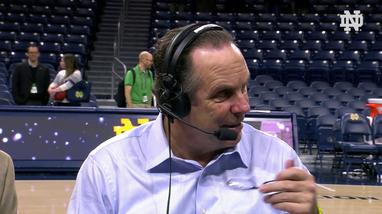 @NDMBB | Mike Brey Instant Reaction vs. Binghamton (2018)